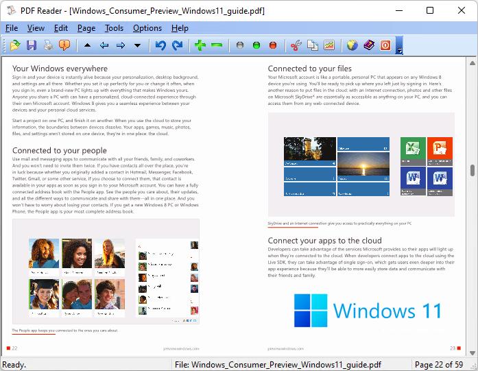 PDF Reader for Windows 11